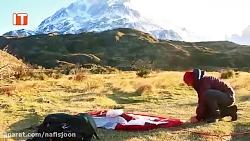 برپا کردن چادر در باد ش...