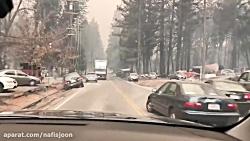 تصاویر وحشتناک از کالیفرنیا بعد از آتش سوزی