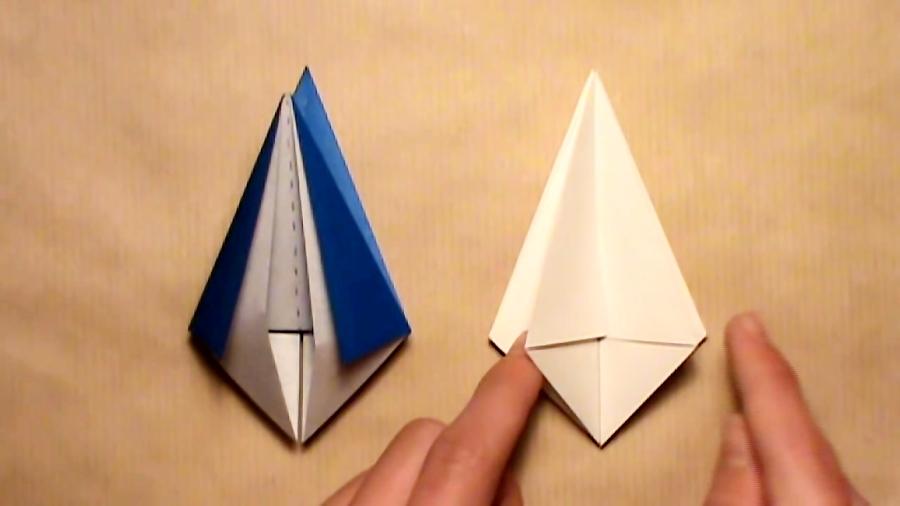 Kalamistar - variation 3 | Origami art, Christmas origami, Origami ... | 506x900