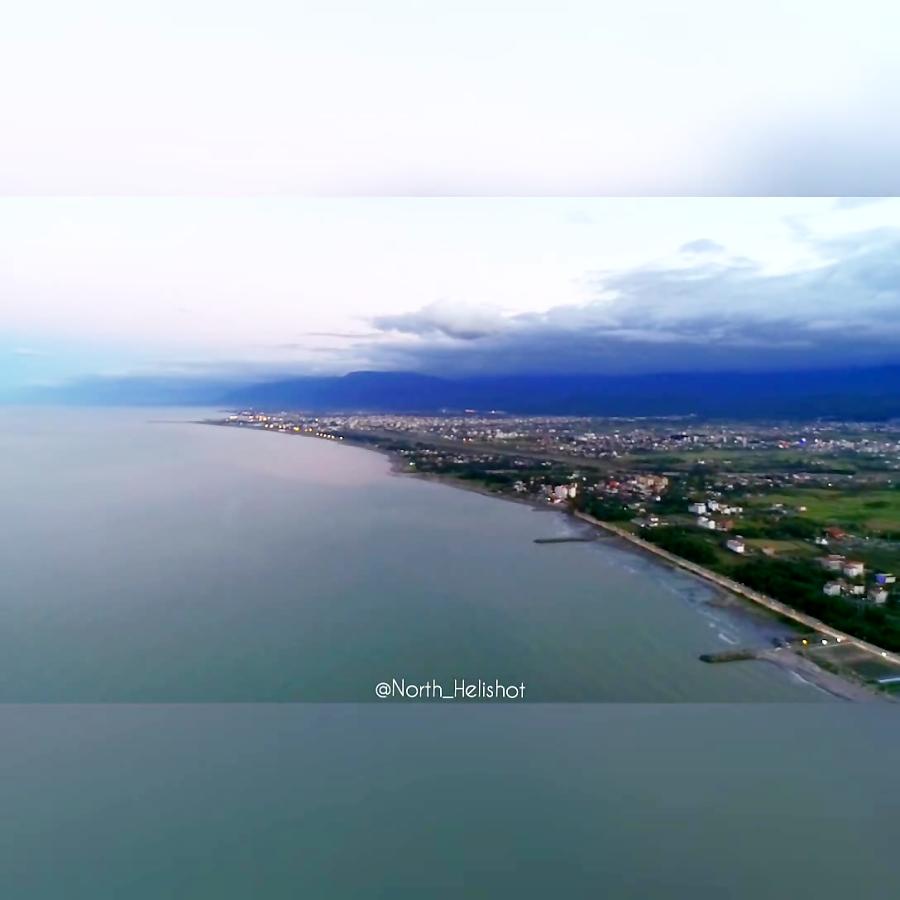 نمایی از نوشهر تا چالوس ، موقعیت بلوار رادیو دریا
