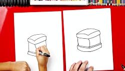 How To Draw An Ice Cream Sandwich