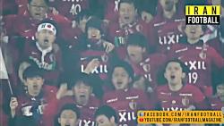 تشویق بازیکنان پرسپولیس توسط هواداران پس از شکست مقابل کاشیما
