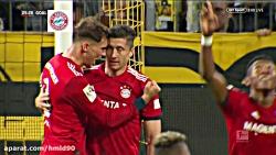 خلاصه بازی دورتموند 3 - 2 بایرن مونیخ