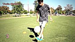 ارتقا کنترل در فوتبال با چالش روپایی توسط یاسین شاهپیری