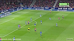 خلاصه بازی اتلتیکو مادرید 3-2 اتلتیک بیلبائو - لالیگا اسپانیا