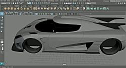 3D Car Modeling Tutorial pt.16 | Koenigsegg One:1 | Windscreen