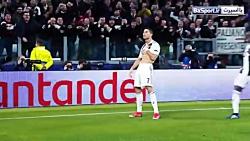 برترین گلهای هفته چهارم لیگ قهرمانان اروپا 2019-2018