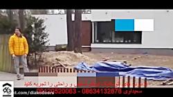 درب اتوماتيک دفنی در اراک دياکو سعيداوي