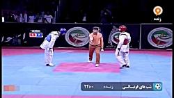 ۷۴- kg | علیرضا شهسوار با رامین حسین قلی زاده | لیگ برتر ۹۷
