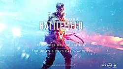 تریلر هنگام عرضه بازی Battlefield V