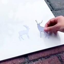 خلق اثر هنری زیبا با اس...