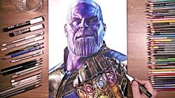 نقاشی فوق العاده Thanos
