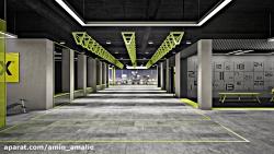 انیمیشن طراحی داخلی ( ب...