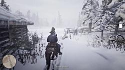 گیم پلی از بازی جدید و بسیار جذابه Red Dead Redemption 2 part 2