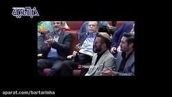 شوخی مهران مدیری با تیپ گلزار و حیایی