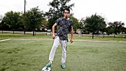 اموزش دریبل جدید فوتبال توسط یاسین شاهپیری