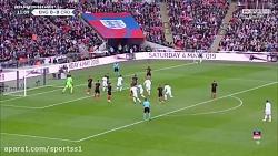 انگلیس 2-1 کرواسی