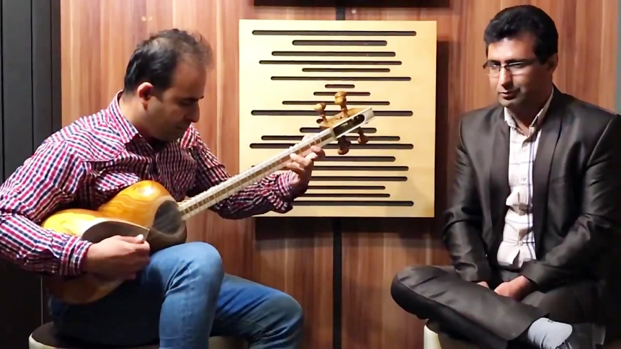 فیلم بداههخوانی و بداههنوازی آواز شور مایهی سی محمدرضا سام و نیما فریدونی تار