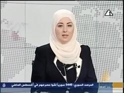 اولین زن محجبه تلویزیو...