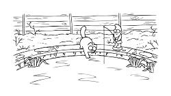 برف بازی گربه سایمون با...