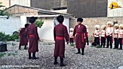 رقص خنجر در تور ترکمن ص...