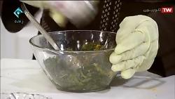 آشپزی : رولت اسفناج