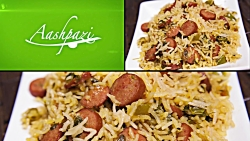 Hot Dog Rice (Sosis Dami) Recipe 4K