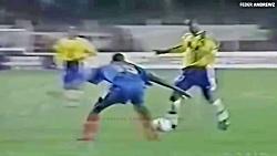 رونالدینیو در بازی های ملی