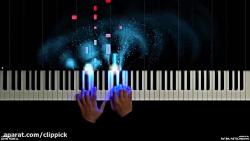 اجرای آهنگ پیانو  انیمی...