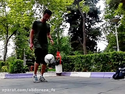 فوتبال نمایشی(فری استایل) از ABDOREZA-FS