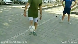 فوتبال نمایشی(فری استایل)