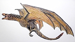How to Draw Dragon From Game of Thrones