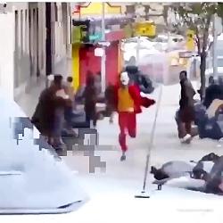 ویدیویی از صحنه ای از ف...