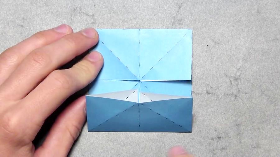 اوریگامی پروانه - آموزش ساخت پروانه کاغذی - کاردستی - خلاقیت