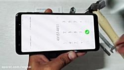 تست مقاومت گوشی گلکسی A7 2018 سامسونگ-Galaxy A7 2018