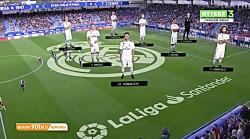 خلاصه لالیگا: ایبار 3-0 رئال مادرید