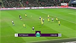 خلاصه بازی : تاتنهام - چلسی - لیگ برتر انگلیس