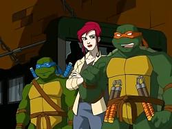 کارتون لاکپشت های نینجا فصل اول قسمت 24