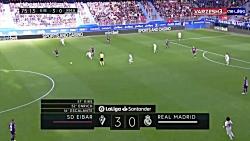 خلاصه بازی ایبار 3 - رئال مادرید 0 - لالیگا اسپانیا