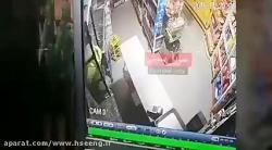 لحظه وقوع زلزله کرمانش...
