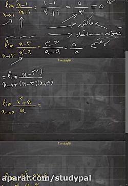 ویدیو آموزش رفع ابهام ریاضی دوازدهم