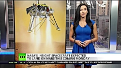 Mars landing: NASA mole machine approaches...