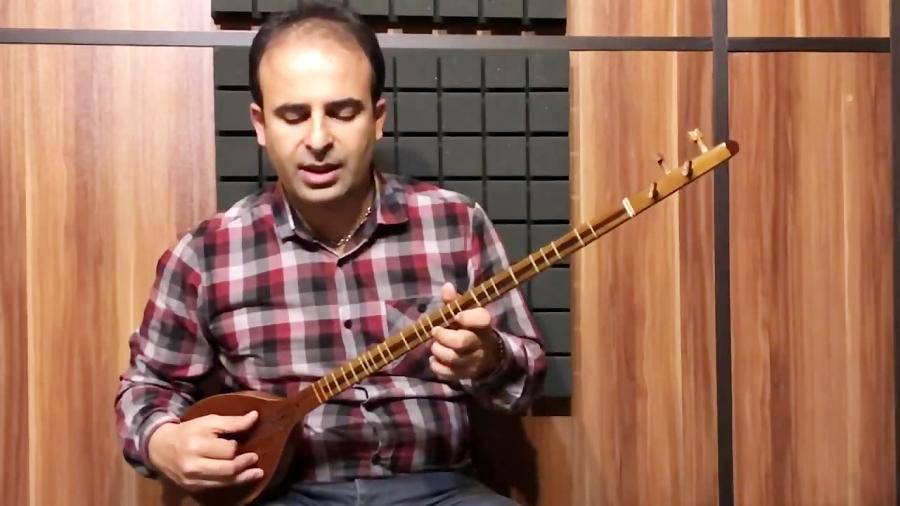 فیلم آموزش گوشهی حاجی حسنی آواز بیات ترک ردیف میرزا عبدالله نیما فریدونی سهتار