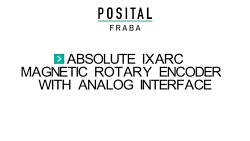 Analog IXARC Absolute Encoder Manual