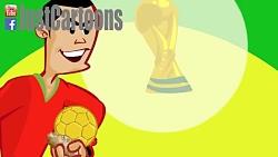 کارتون جام جهانی 2014