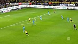 خلاصه بازی دورتموند 2-0 فرایبورگ (HD)