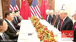 آتش بس بین ترامپ و چین