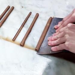 چگونه شكلات چوبي براي ت...