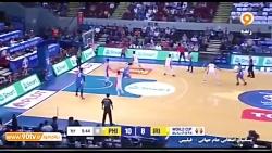صعود بسکتبال ایران به ج...