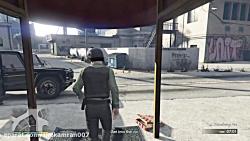 دزدی از بانک در GTA V (شمش ...